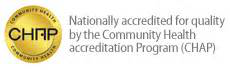 Natioanal accredited for quality by the Community Health accreditation Program